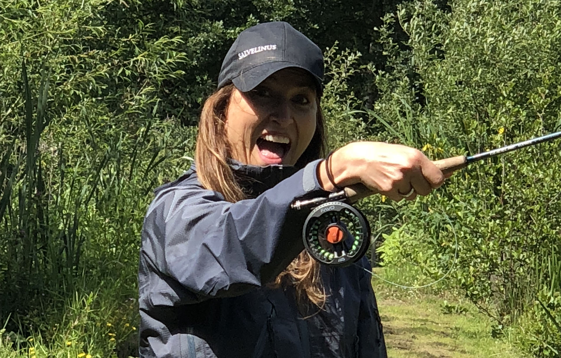 Women who like fly fishing